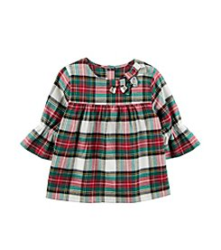 Carter's Girls' 2T-8 Long Sleeve Ruffle Sleeve Top