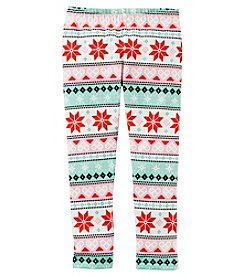 Carter's Girls' 12M-4T Fair Isle Cozy Fleece Leggings