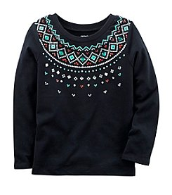 Carter's Girls' 4-8 Fair Isle T-Shirt