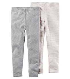 Carter's Girls' 4-8 2-Pack Leggings