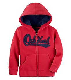 OshKosh B'Gosh® Boys 2T-7 Full Zip Lind Logo Hoody