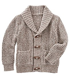 OshKosh B'Gosh Boys' 2T-8 Shawl Collar Cardigan