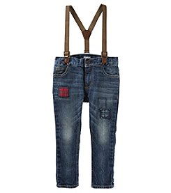 OshKosh B'Gosh Boys' 2T-5T Slim Fit Suspender Jeans