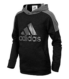 adidas Boys' 8-20 Long Sleeve Indicator Pullover