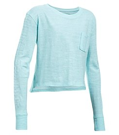 Under Armour® Girls' 7-16 Elevated Training Knit Top