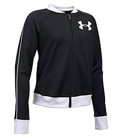 Under Armour® Girls' 7-16 Track Jacket
