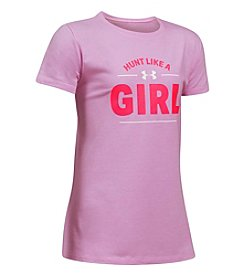 Under Armour® Girls' 7-16 Short Sleeve Hunt Like A Girl Tee