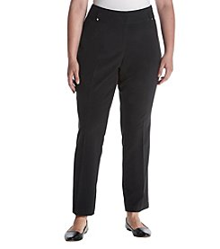 Briggs New York Plus Size Performance Fit Slim Pants