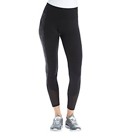 Ivanka Trump® Athleisure Mesh Ankle Crop Leggings