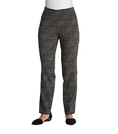 Studio Works® Petites' Jaquard Dress Pants