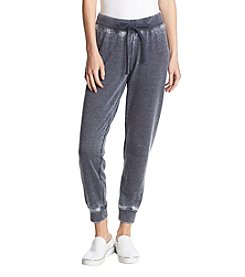 Juicy Couture Cross Dye Burnout Jogger Pants