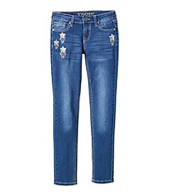 Vigoss® Girls' 7-16 Shooting Star Skinny Jeans