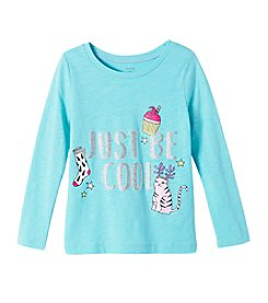 Carter's Girls' 4-8 Just Be Cool Long Sleeve Tee