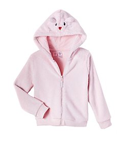 Carter's Girls' 4-8 Faux Sherpa Mouse Hoodie