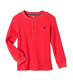 Carter's Boys' 2T-4T Long Sleeve Thermal Henley Top