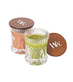 WoodWick Set of 2 Harvest Jeweled Hourglass Candles