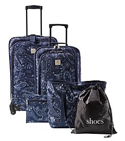 Travel Quarters 5-pc Paisley 4-Wheeled Spinner Set