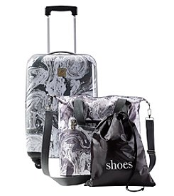 Travel Quarters Marble 3-pc Hardside Spinner Luggage Set