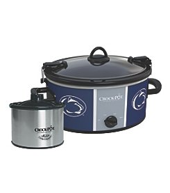 Crock-Pot NCAA® Penn State Nittany Lions Collegiate Cook & Carry Slow Cooker With Bonus 16-oz. Little Dipper Food Warmer