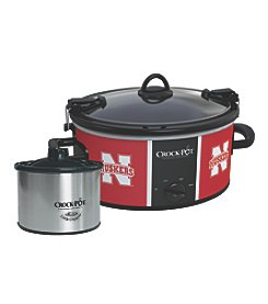 Crock-Pot NCAA® Nebraska Cornhuskers Collegiate Cook & Carry Slow Cooker With Bonus 16-oz. Little Dipper Food Warmer