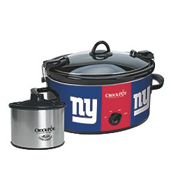 Crock-Pot NFL® New York Giants Cook & Carry Slow Cooker With Bonus 16-oz. Little Dipper Food Warmer