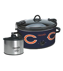 Crock-Pot NFL® Chicago Bears Cook & Carry Slow Cooker With Bonus 16-oz. Little Dipper Food Warmer
