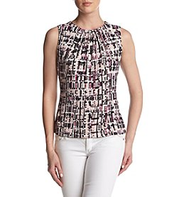 Calvin Klein Patterned Top