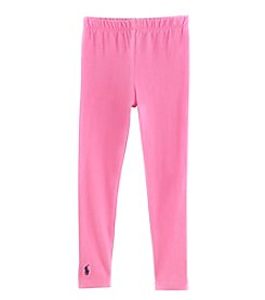 Polo Ralph Lauren Girls' 2T-16 Pony Leggings