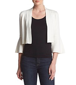 Calvin Klein Cropped Bell Sleeve Cardigan