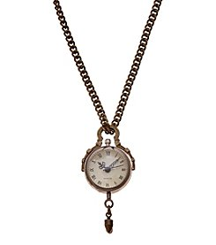 Ruff Hewn Watch Pendant Necklace