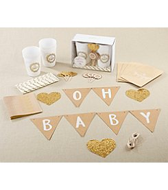 Kate Aspen Oh Baby Rustic 73-piece Baby Shower Kit