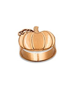 Kate Aspen Set of 12 Pumpkin Napkin Ring