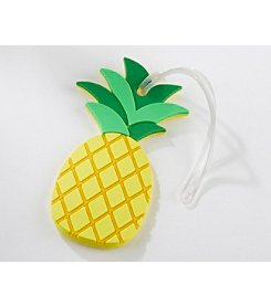 Kate Aspen Set of 6 Pineapple Luggage Tags