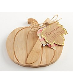 Kate Aspen Set of 6 Pumpkin Cheeseboard