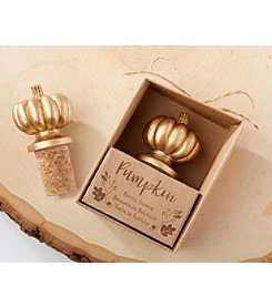 Kate Aspen Set of 6 Pumpkin Bottle Stoppers