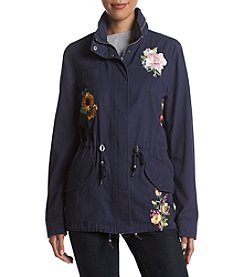 Bagatelle® Embroidered Anorak Coat