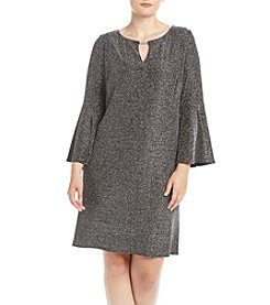 Jessica Howard® Plus Size Keyhole Neck Dress
