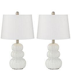 Pacific Coast Lighting Set of 2 Lacey Table Lamps