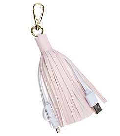 Charge Against Breast Cancer Tassel Phone Charger