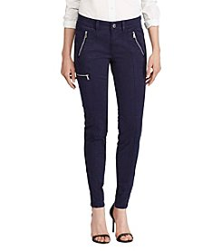Lauren Ralph Lauren® Zip Pocket Straight Cargo Pants