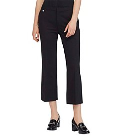 Lauren Ralph Lauren Cropped Trouser Pants