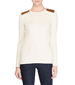 Lauren Ralph Lauren® Petites' Knit Sweater