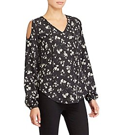 Lauren Ralph Lauren® Petites' Cold Shoulder Blouse