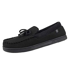 Isotoner Signature Embossed Sport Knit Moccasin