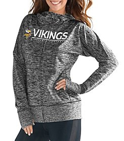 G III NFL® Minnesota Vikings Women's Receiver Full Zip Hoodie