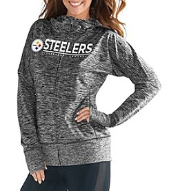 G III NFL® Pittsburgh Steelers Women's Receiver Full Zip Hoodie