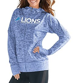 G III NFL® Detroit Lions Women's Receiver Full Zip Hoodie