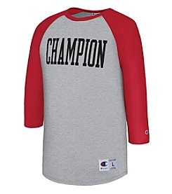 Champion Heritage Baseball Sleeve Tee