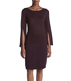 Calvin Klein Split Sleeve Sweater Dress