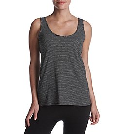 Kenneth Cole New York Stripe Scoop Neck Tank